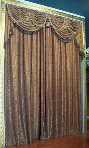 卧室窗帘效果图(3)