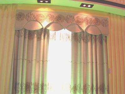 酒店窗帘图片