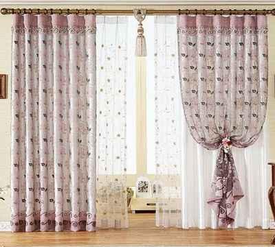 2010最流行的窗帘效果图片 9