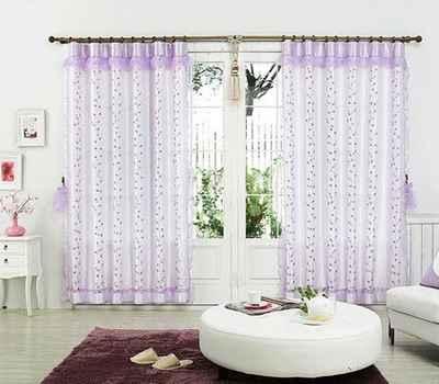 2010最流行的窗帘效果图片