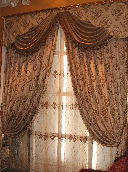 居室窗帘如何搭配