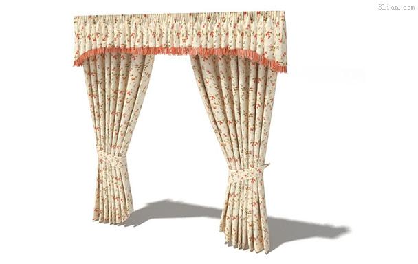 3d模型下载欧式窗帘