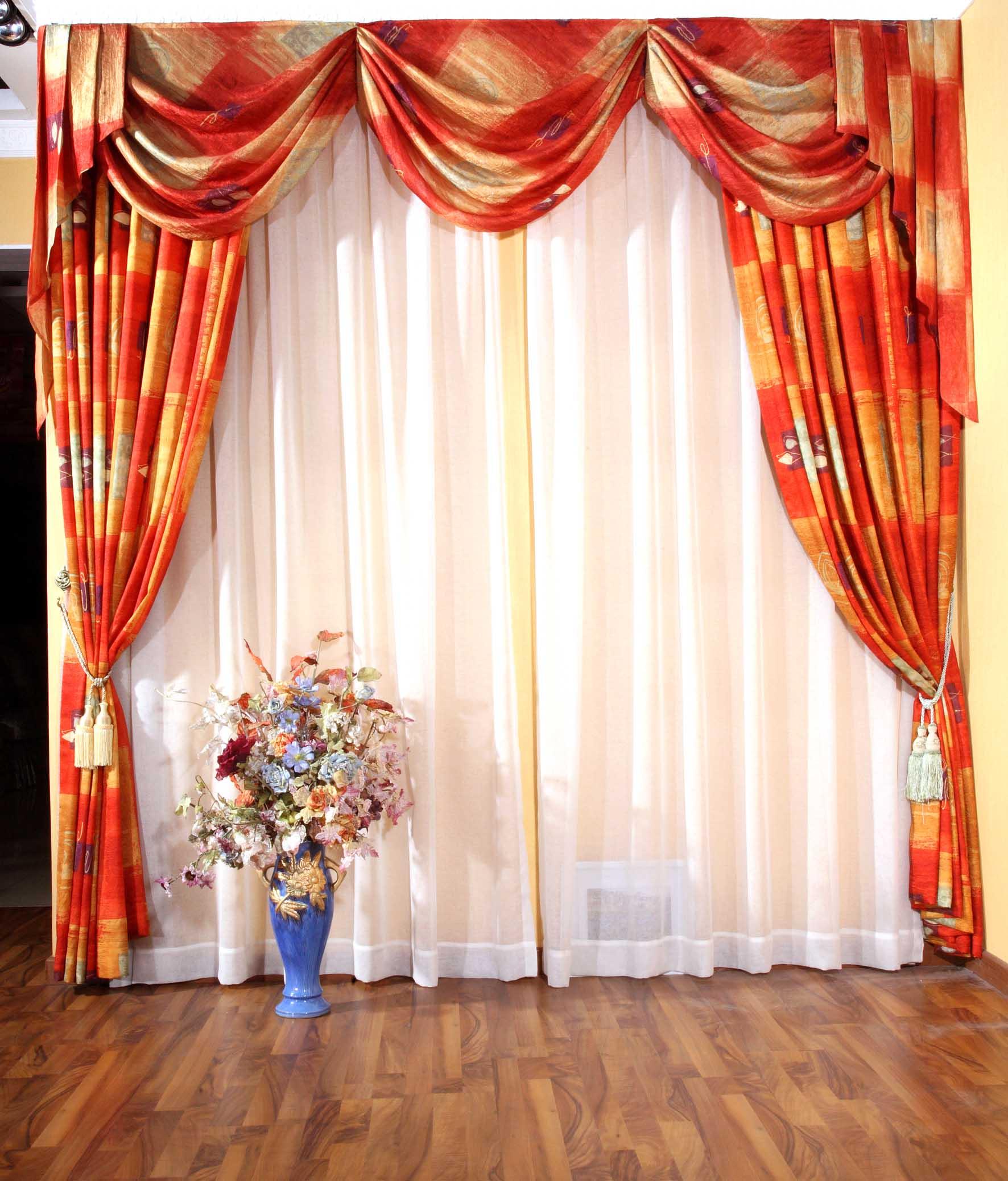 时尚家居窗帘装修效果图 高清图片