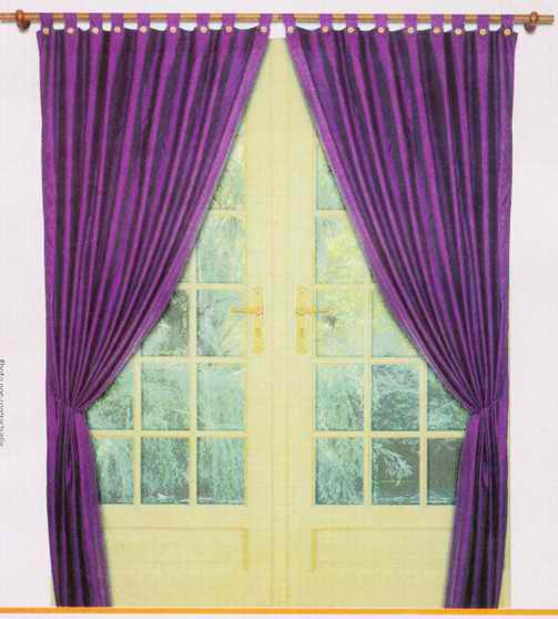 时尚家居窗帘装修效果图