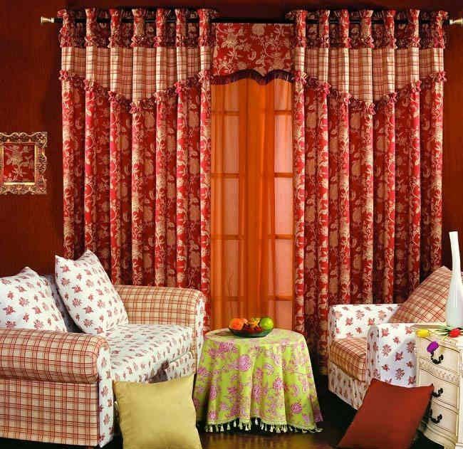 流行卧室窗帘效果图 7