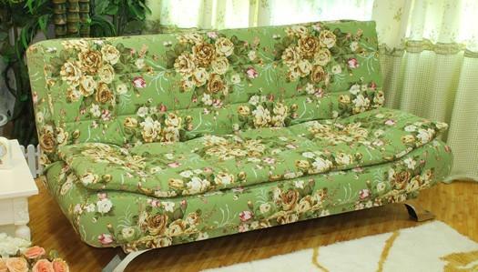 绿色优雅软包窗帘搭配(23)