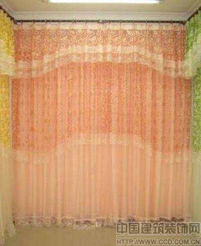 飘窗窗帘让情调从家居装饰中飘出来(图)