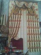 高档贵族客厅非凡窗帘