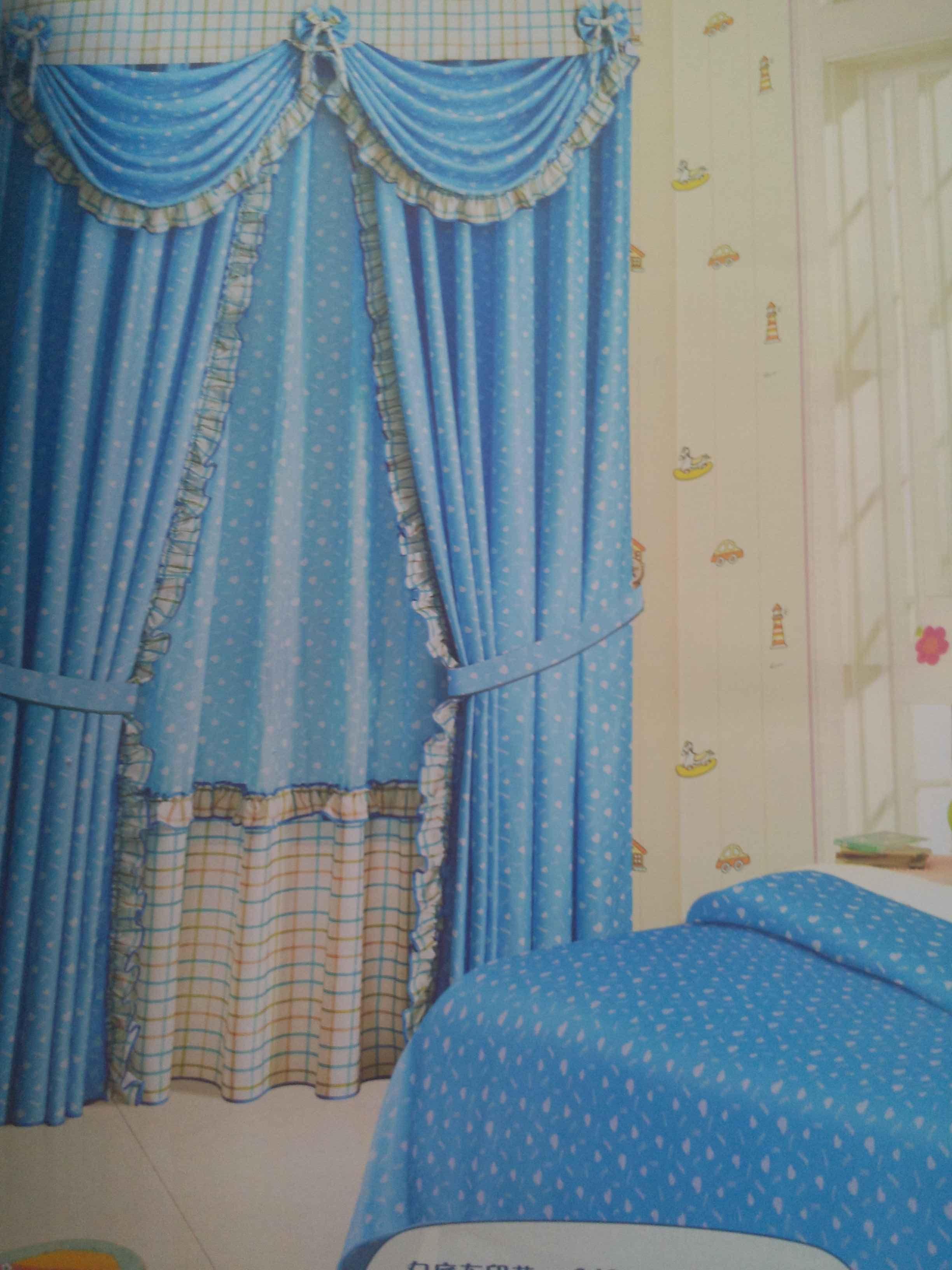 无垠的爱窗帘布艺图片