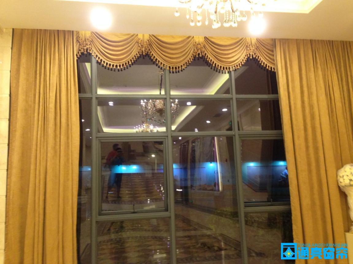 用于酒店,会所,宾馆专用的高档布帘