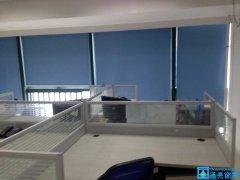 龙岗区正中时代广场A座办公室窗帘成功案例
