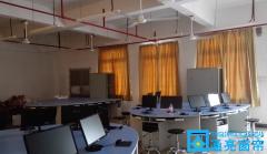 新安职业技术学院窗帘案例~教室窗帘~实验室窗帘~遮光窗帘