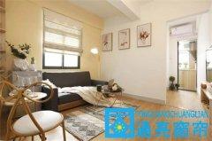 龙华民治横岭窝酷公寓窗帘、地板胶、地毯、喷绘卷帘成功案例